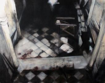 Here comes Lucifer, Öl auf Leinwand, 120x150cm, 2015