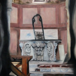 Cold Church, Hallstatt, Öl auf Leinwand, 150x120cm