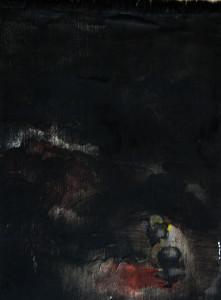 höhlemitbeinchen - Öl - Leinwand 25 x 20 cm