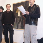 Vernissage - Galerie Esplanade - Bad Ischl - 2003 - Galerist Michael DeWitt